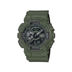 Электронные часы Casio G-shock Ga-110lp-3a. Цвет: зеленый