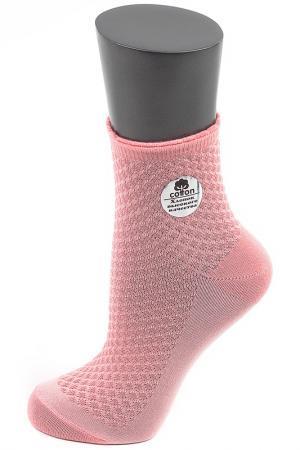 Носки ALLA BUONE. Цвет: коралловый