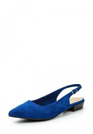 Туфли Tamaris. Цвет: синий