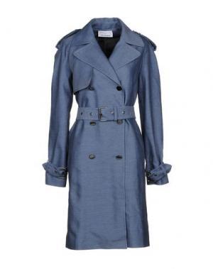 Легкое пальто WANDA NYLON. Цвет: синий