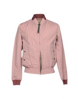 Куртка NEMEN. Цвет: пастельно-розовый