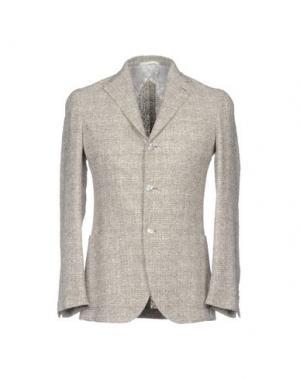 Пиджак BARBA Napoli. Цвет: голубиный серый