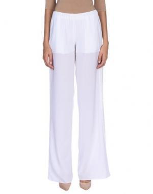 Повседневные брюки ALESSANDRO LEGORA. Цвет: белый