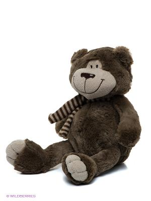 Мягкая игрушка Мишка Тодди MAXITOYS. Цвет: темно-бежевый