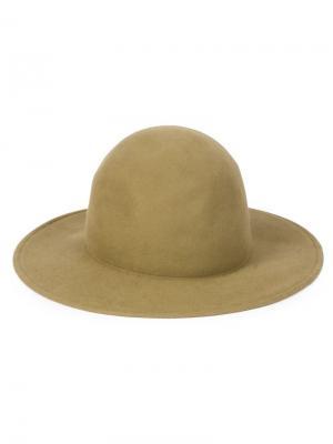 Фетровая шляпа Liberty Or Death. Цвет: зелёный