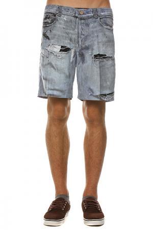 Пляжные мужские шорты  Stone Free Brawl Blue Insight. Цвет: голубой
