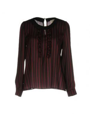 Блузка VICOLO. Цвет: баклажанный