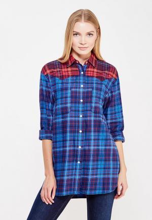 Рубашка Tommy Hilfiger. Цвет: синий