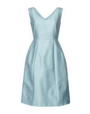 Платье до колена DICE KAYEK. Цвет: небесно-голубой