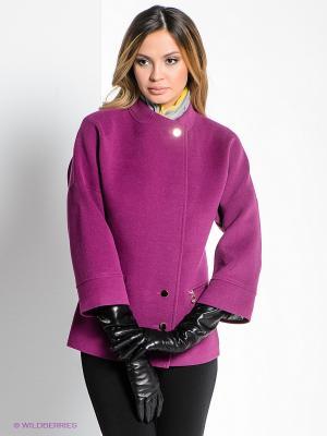 Пальто Klimini. Цвет: фиолетовый