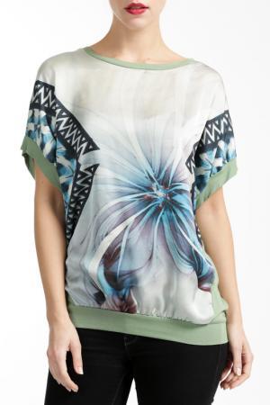 Рубашка Silvana Cirri. Цвет: green