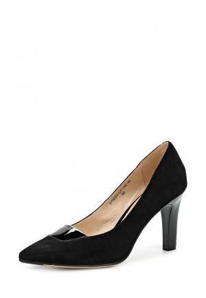 Туфли Elita. Цвет: черный