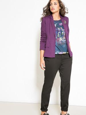Пиджак Fiorella Rubino. Цвет: фиолетовый