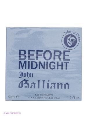 Туалетная вода BEFORE MIDNIGHT 50 мл. John Galliano. Цвет: голубой