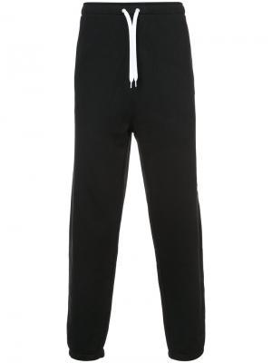 Спортивные брюки Second/Layer. Цвет: чёрный