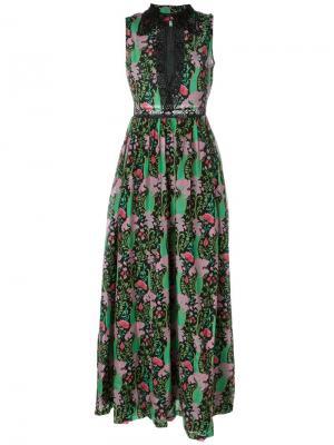 Длинное платье-рубашка Manoush. Цвет: чёрный