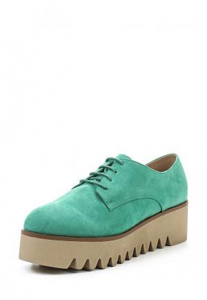 Ботинки Corina. Цвет: мятный