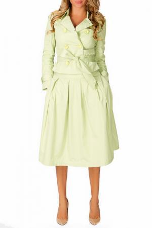 Куртка Odri. Цвет: зеленый