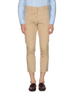 Повседневные брюки MC MASTER OF CEREMONIES. Цвет: песочный
