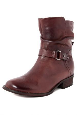 Half boots GIANNI GREGORI. Цвет: vinous