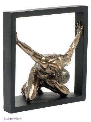 Статуэтка Атлет Veronese. Цвет: бронзовый, черный