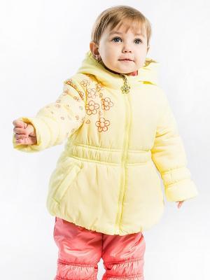Комплект Лилия Аксарт. Цвет: желтый