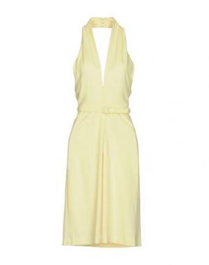 Платье до колена GUCCI. Цвет: желтый