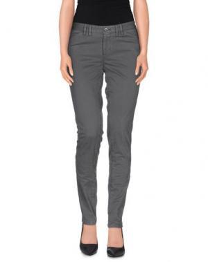 Повседневные брюки PT0W. Цвет: свинцово-серый