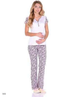Комплект для беременных и кормящих FEST. Цвет: белый, розовый