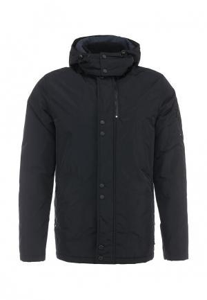 Куртка утепленная Lagerfeld. Цвет: синий
