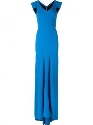 Платье Salters Roland Mouret. Цвет: синий
