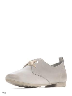 Ботинки BE NATURAL. Цвет: серый