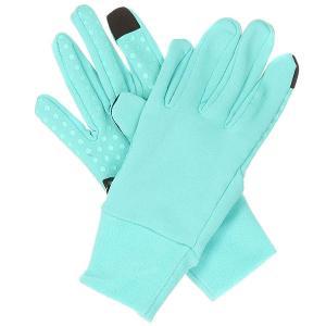 Перчатки сноубордические женские  Storm Liner Lagoon Dakine. Цвет: голубой