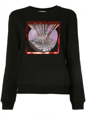 Rave Mansion sweatshirt Carven. Цвет: чёрный
