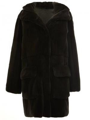 Двухстороннее пальто 32 Paradis Sprung Frères. Цвет: чёрный