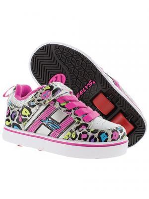 Роликовые кроссовки Heelys Bolt X2 770797 (12C). Цвет: белый, розовый