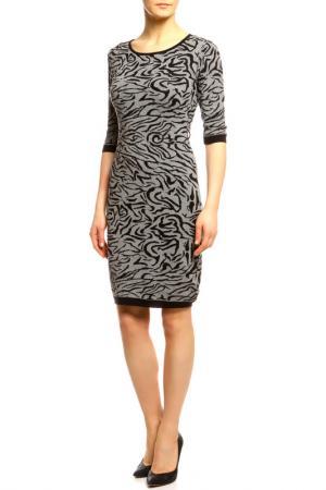 Платье Sabra. Цвет: серый