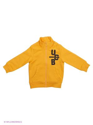 Толстовка United Colors of Benetton. Цвет: золотистый