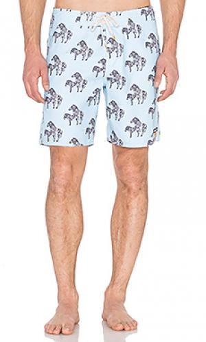 Плавательные шорты zeebs Ambsn. Цвет: синий