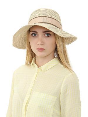 Шляпа Gusachi. Цвет: бежевый