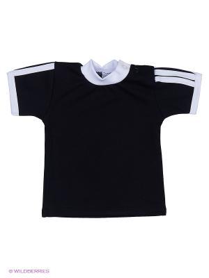Футболка Tsipochka. Цвет: черный