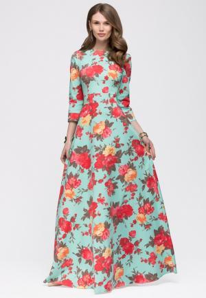 Платье 1001dress. Цвет: мятный