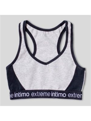 Топ Extreme Intimo. Цвет: серый