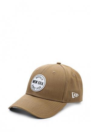 Бейсболка New Era. Цвет: коричневый