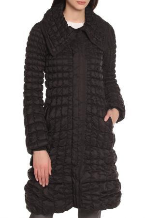 Пальто Covered. Цвет: черный