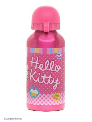 Бутылка алюминиевая Hello Kitty Stor. Цвет: розовый, белый