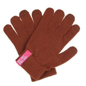 Перчатки  Touch Gloves Brown TrueSpin. Цвет: коричневый