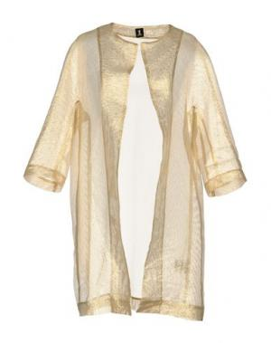 Легкое пальто 1-ONE. Цвет: золотистый