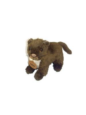 Мягкая игрушка Мангуст Азбука Тойс. Цвет: коричневый