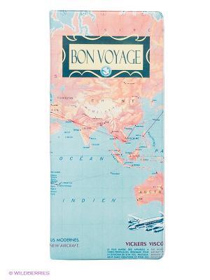 Обложка для путешествия Journey Kawaii Factory. Цвет: голубой